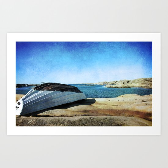 Fishing Boat Art Print
