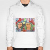 mars Hoodies featuring Mars by luisyiyo