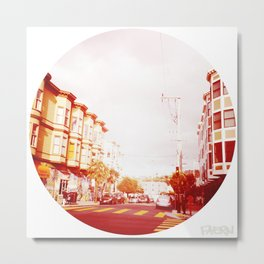 Near The South End of Folsom, San Francisco Metal Print