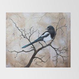 Promise - Magpie Throw Blanket