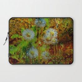 Concept abstract : Dandelion / Pusteblume Laptop Sleeve