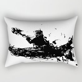 Kayakers Kayak Rectangular Pillow