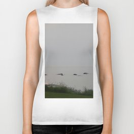 Peace on the Sea Biker Tank