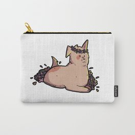 supportive dog 2 Carry-All Pouch