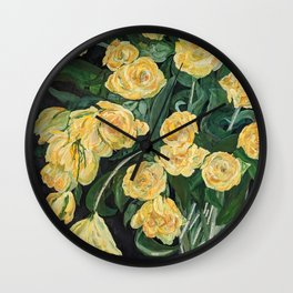 What a Rose Is Wall Clock