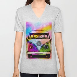 Hippie Adventures Unisex V-Neck