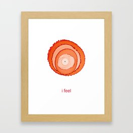 Navel Chakra / Second Chakra Framed Art Print