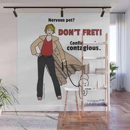 Confidence is Contagious Wall Mural