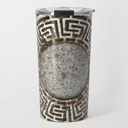Metal on Concrete #buyart #society6 Travel Mug