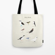 Dirty Birds Tote Bag