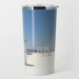 Santorini Cafe Travel Mug