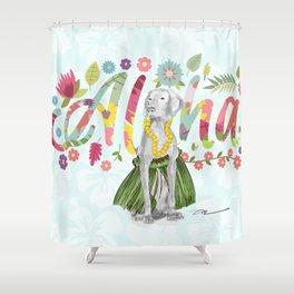ALOHA WEIM Shower Curtain