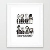 anarchy Framed Art Prints featuring Anarchy by Mermelada de Sesos