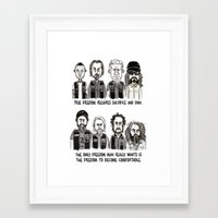 sons of anarchy Framed Art Prints featuring Anarchy by Mermelada de Sesos