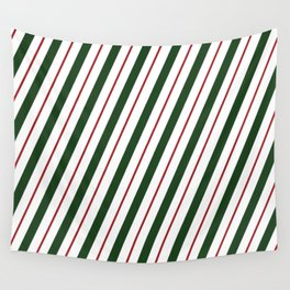 Peppermint Candy Cane Wall Tapestry