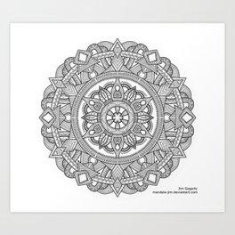 D-N-A-lien Art Print