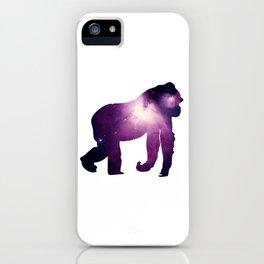 Purple Gorilla iPhone Case