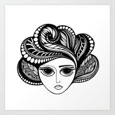 Tendrils #6 Art Print