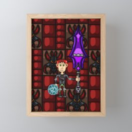 Treyton Framed Mini Art Print