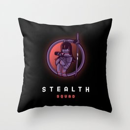 Stealth Squad Throw Pillow