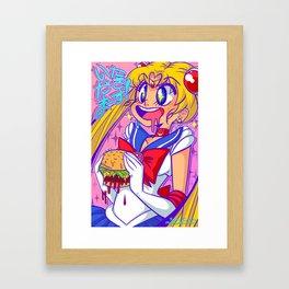 ITADAKIMASU!! Framed Art Print