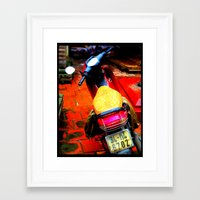 moto Framed Art Prints featuring Moto by Loady