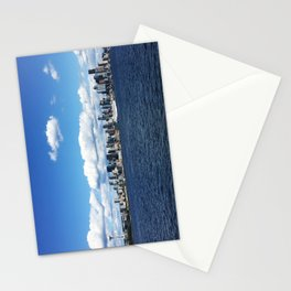 Seattle Skyline - #1 Stationery Cards