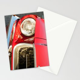 Vintage american car detail Stationery Cards