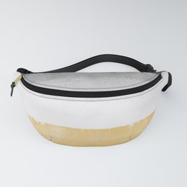 Coastal waves Fanny Pack