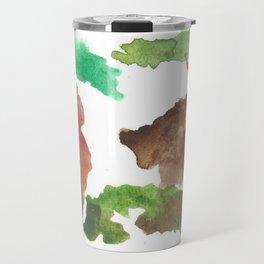 Bear Impressions Travel Mug