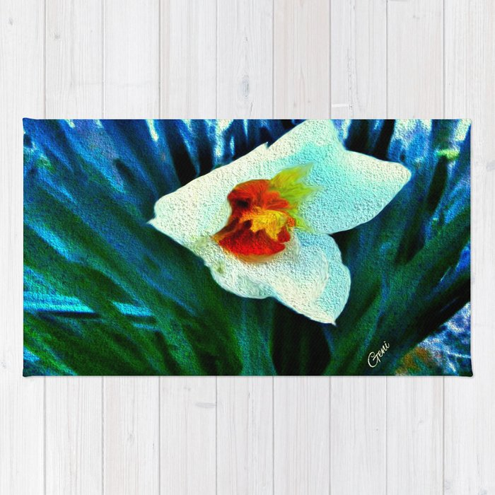 First Jonquil of Spring Rug