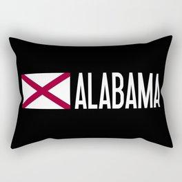 Alabama: Alabamian Flag & Alabama Rectangular Pillow