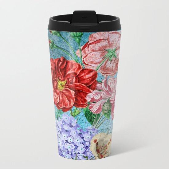 Wall Flowers Metal Travel Mug
