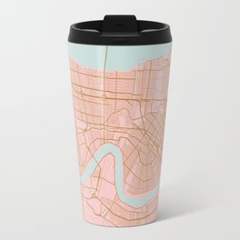 New Orleans map, Lousiana Travel Mug