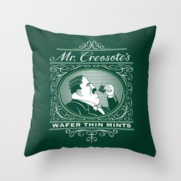 Wafer Thin Mints Throw Pillow