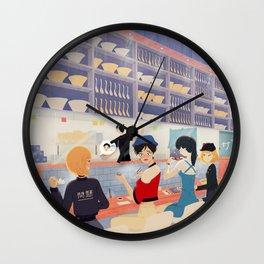 ramen night Wall Clock