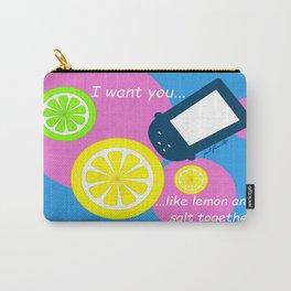 Lemon and Salt Carry-All Pouch