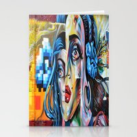 madonna Stationery Cards featuring Madonna by Robin Curtiss