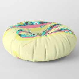 The Limo Floor Pillow