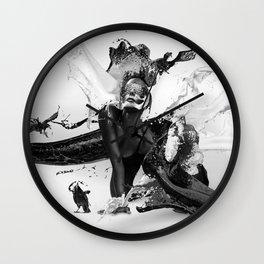 Milk'n Honey Wall Clock