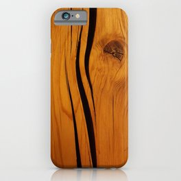 Wooden texture iPhone Case