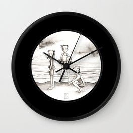 Royal Duck Academy summer camp Wall Clock