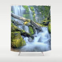 Waterfall - Proxy Falls Shower Curtain