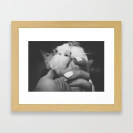 Carezza Framed Art Print