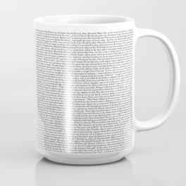 Paradise Lost, Book I. Coffee Mug