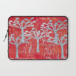 red dot tree forest Laptop Sleeve