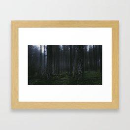 I´m cold Framed Art Print