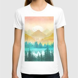 Summer Mountain Sunrise T-shirt