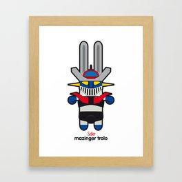 Sr. Trolo / Mazinger Framed Art Print