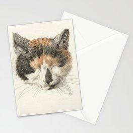 Vintage Cat Illustration II Stationery Cards